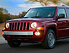 The Jeep Patriot in action
